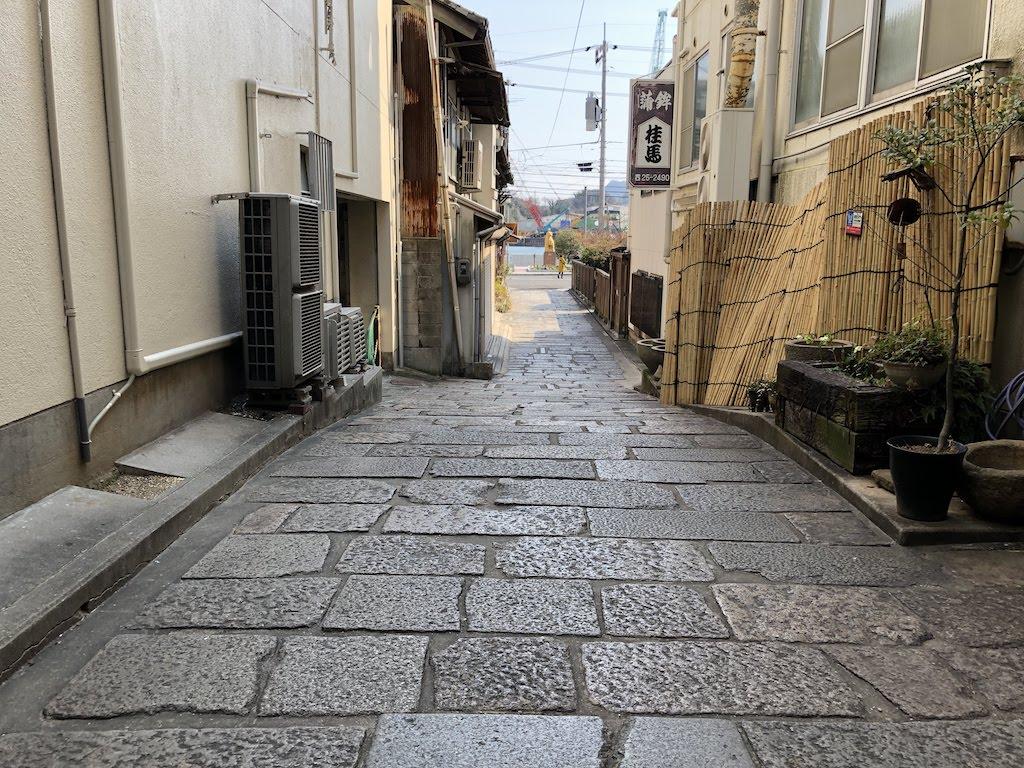 石畳小路(魚市場跡)/IshidatamiShojiAlley