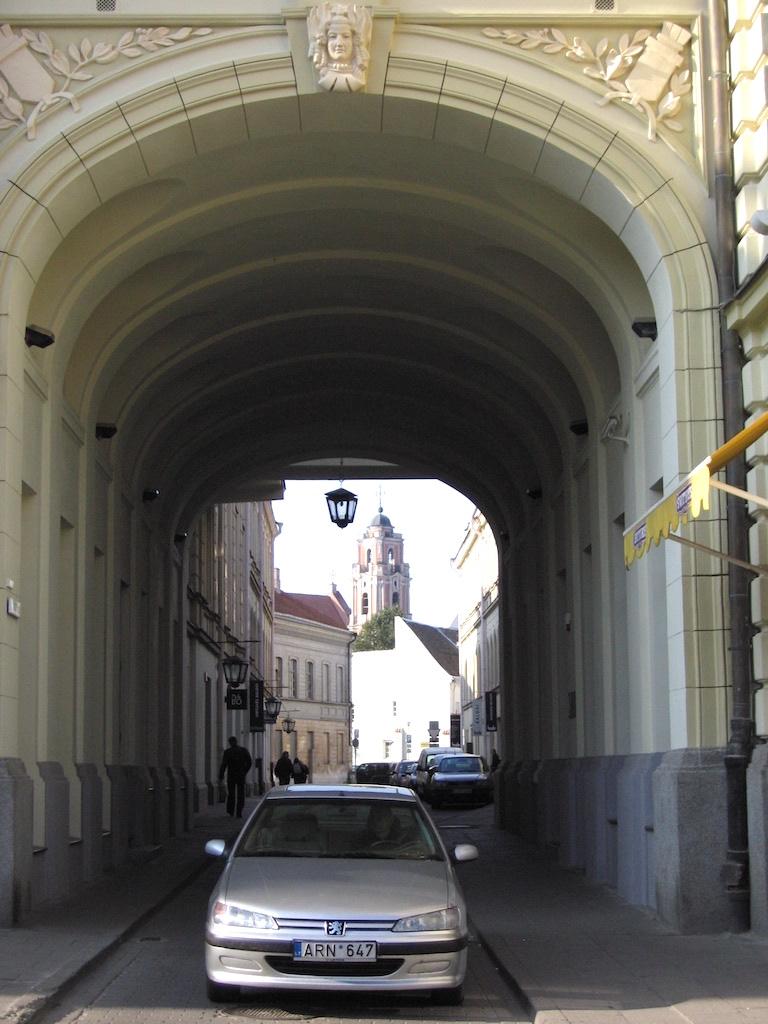 リトアニアの首都ヴィリニュス/LithuaniaVilnius