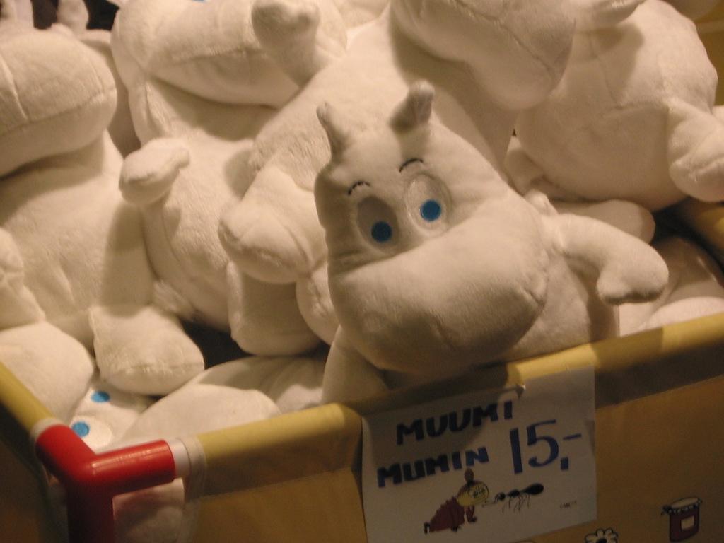 ヘルシンキのムーミン/Moomin