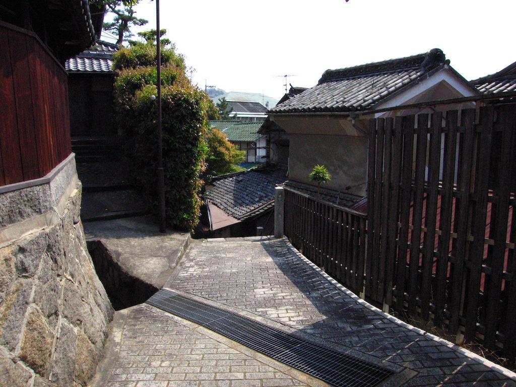 西郷寺裏参道/SaigojiUrasandoAlley