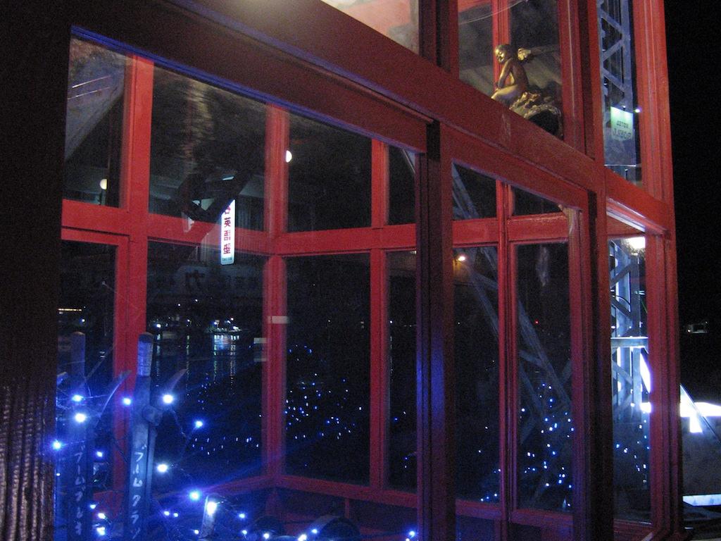 夜の住吉浜公衆電話室/SumiyoshihamaTelephoneBox3